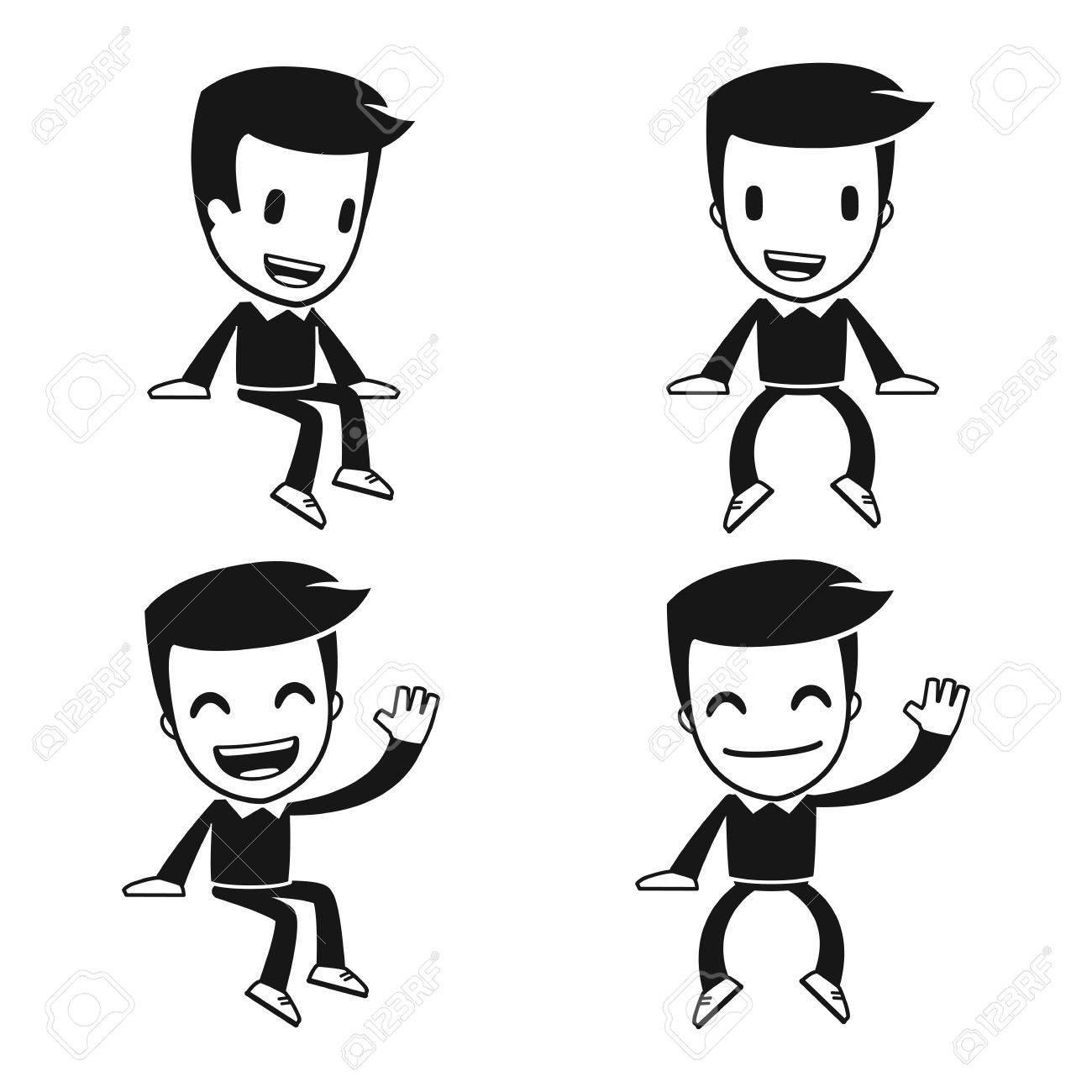 funny cartoon helper man Stock Vector - 14949293