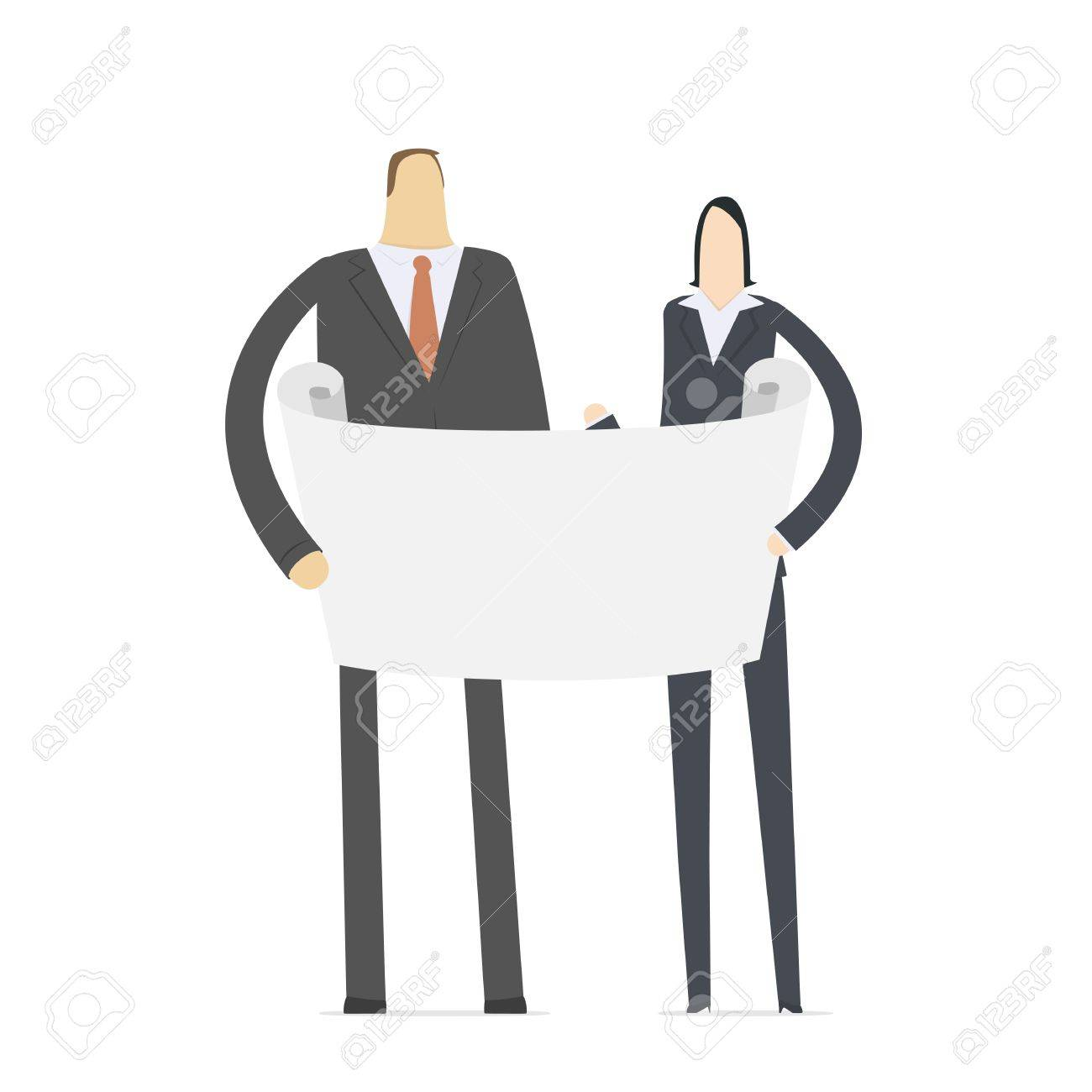 managers learn important information Stock Vector - 16550134