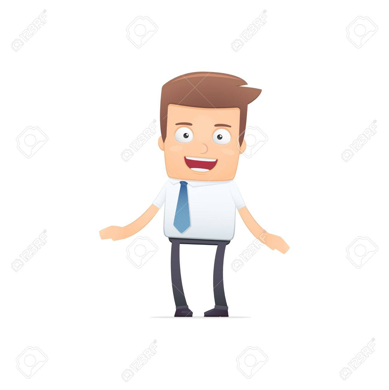 manager, suitable for use in dialogs with other characters. Stock Vector - 21832374