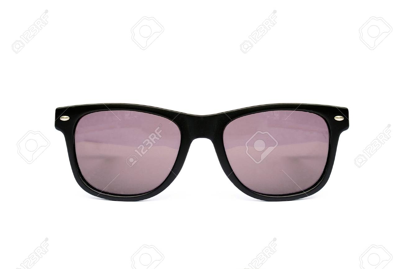Wayfarer Isolated Sunglasses White On Shape BackgroundModern kONnw0PX8