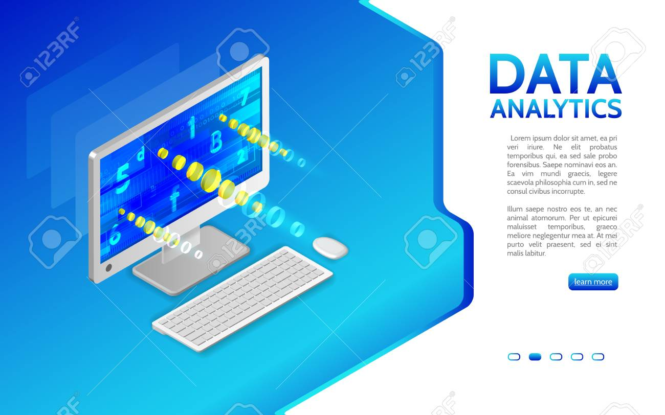 Abstract Analytics System Isometric Illustration Analysis Of Royalty Free Cliparts Vectors And Stock Illustration Image 110342470