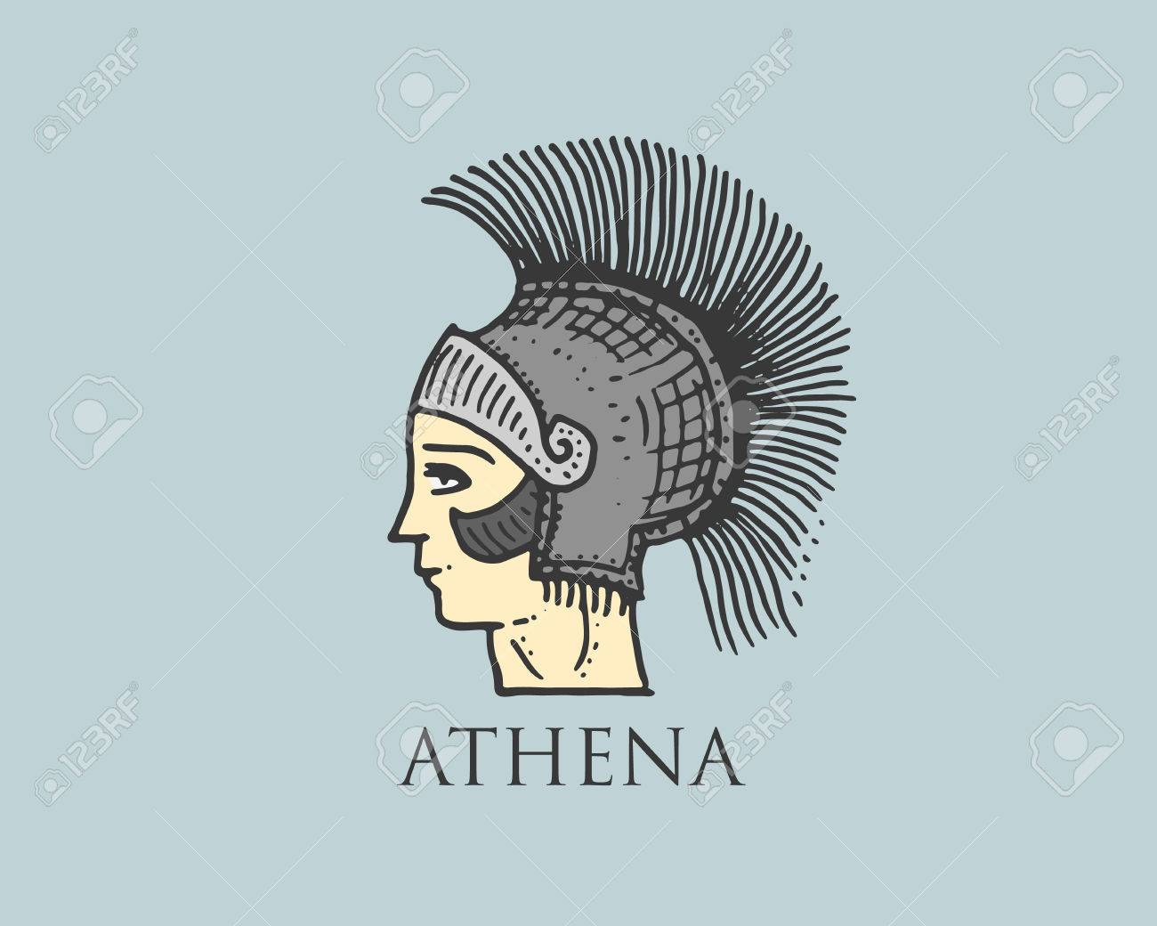 Athena Greek Goddess Symbols Topsimages
