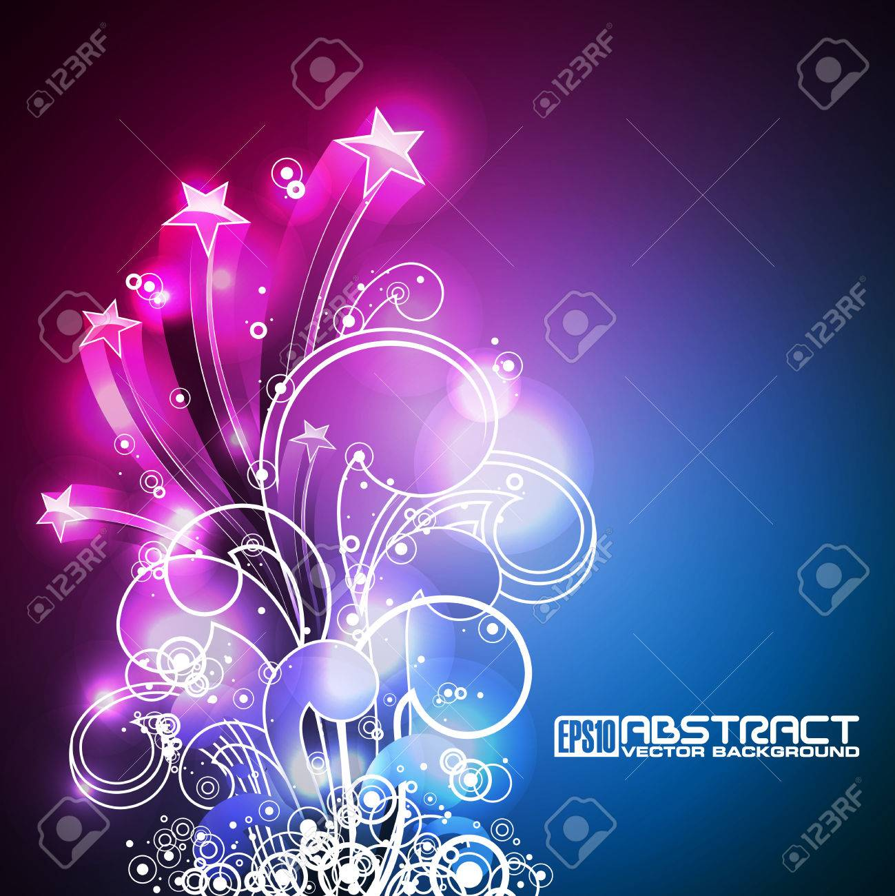 Abstract   shiny background. Stock Vector - 8238909