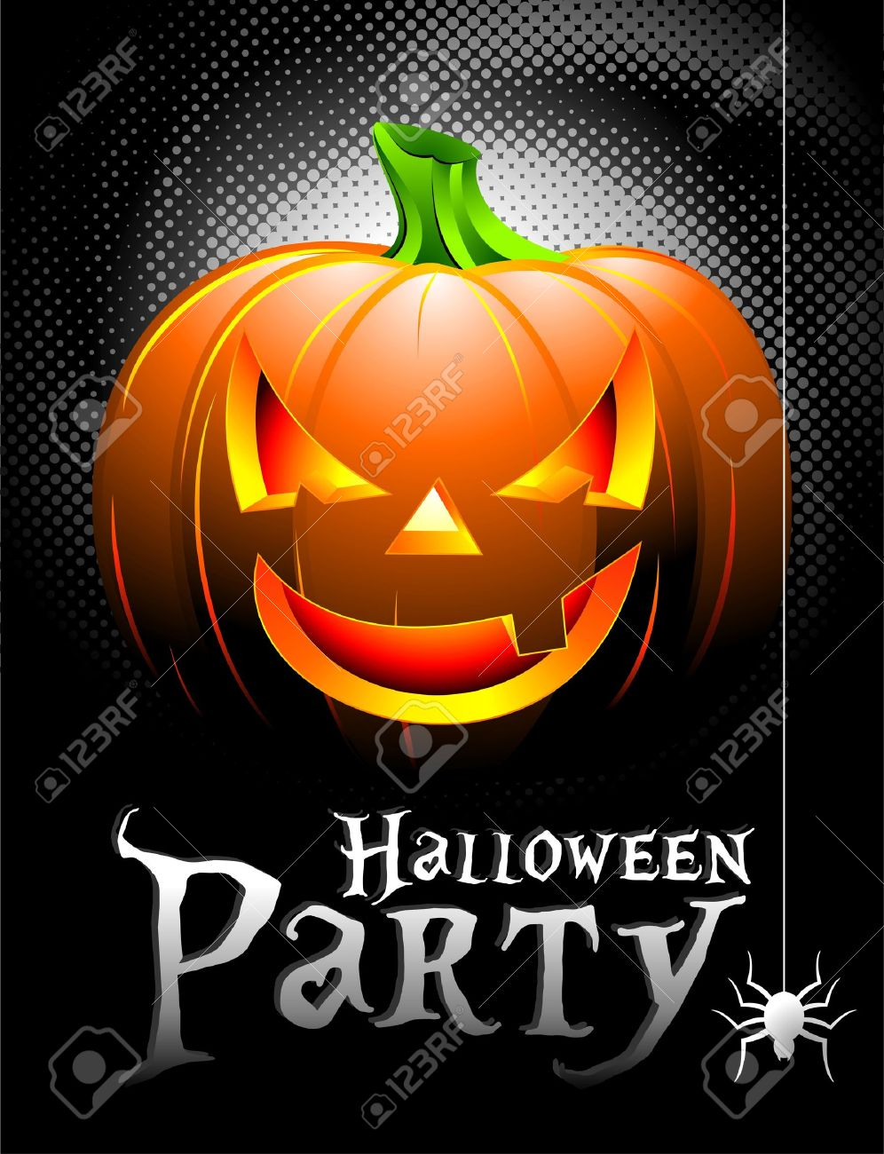 54,811 Halloween Party Stock Vector Illustration And Royalty Free ...