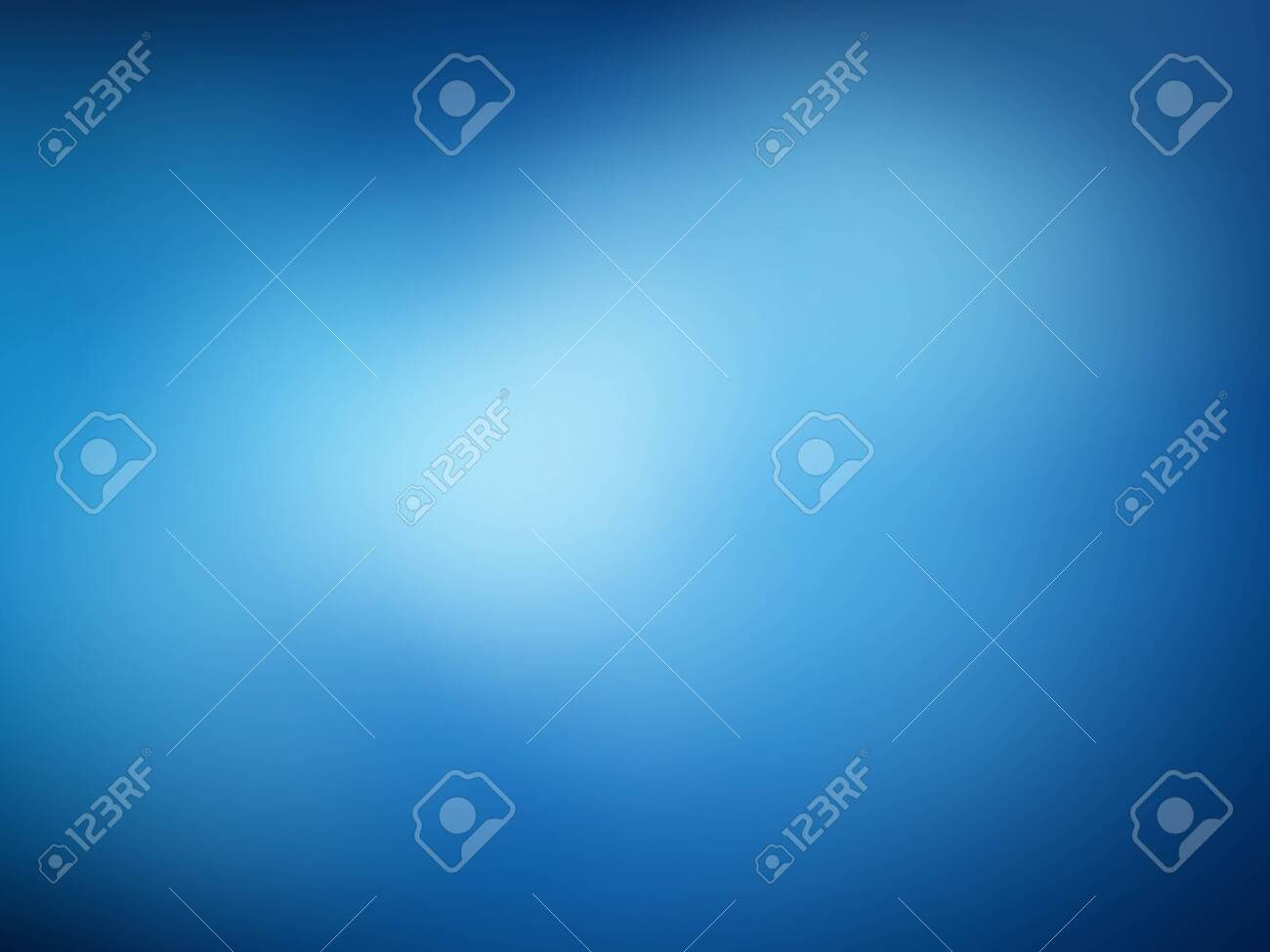 Blue blur abstract template. Cold sky empty background. Neutral blurred template. - 143697812