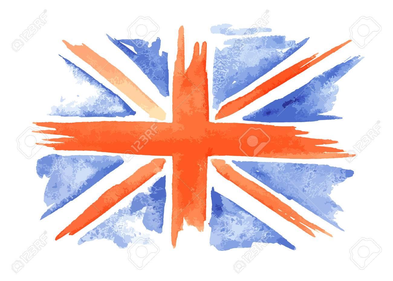 Bandera De Reino Unido Para Colorear. Uk Para Colorear Para Para ...