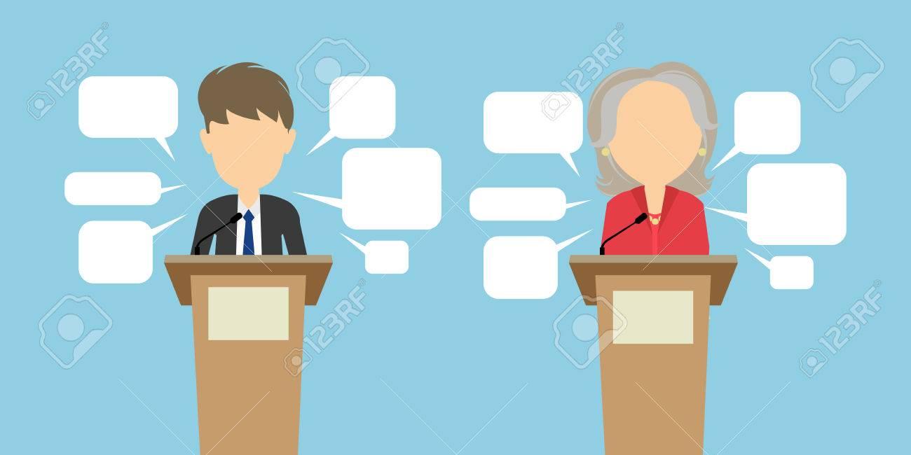 Resultado de imagen para debate dibujo