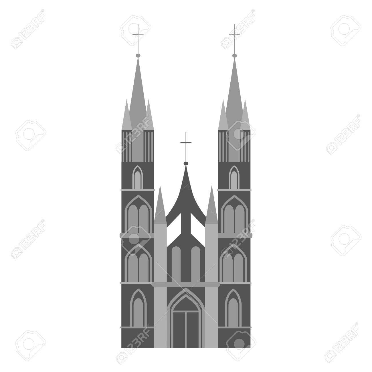 """Résultat de recherche d'images pour """"architecture gothique clipart"""""""