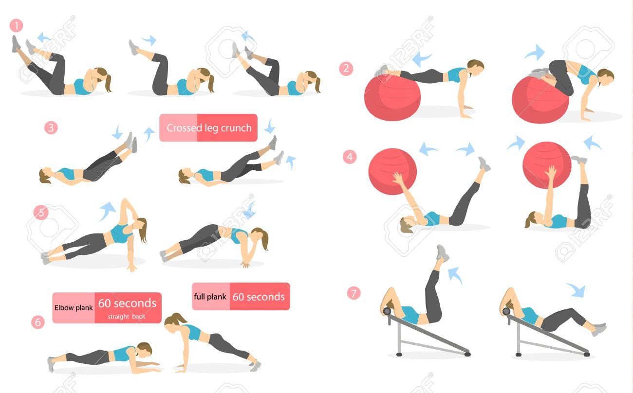 ejercicios para mujeres abdomen