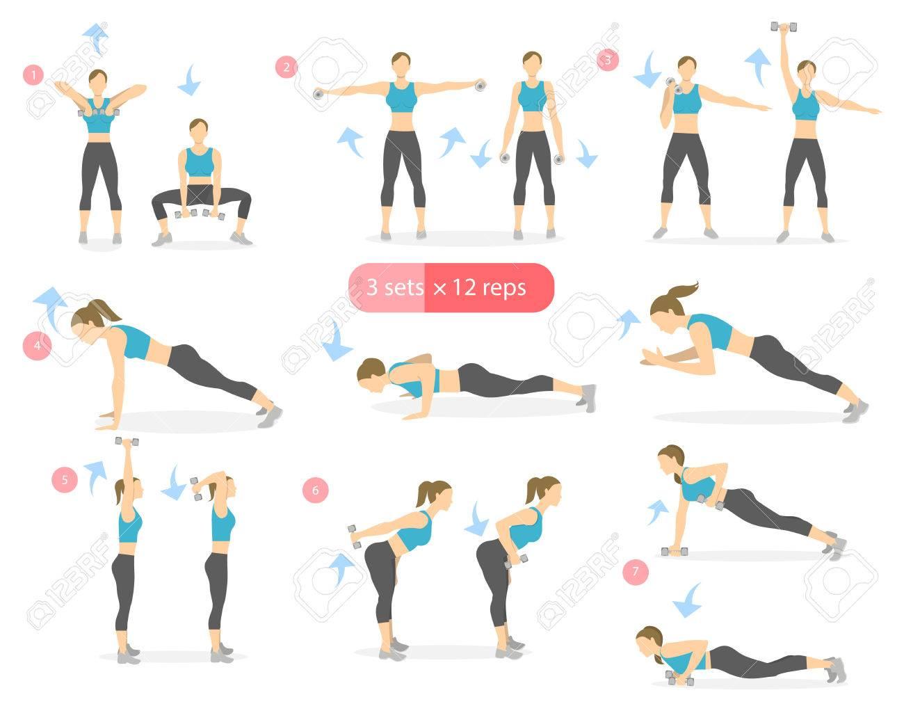 exercice bras femme