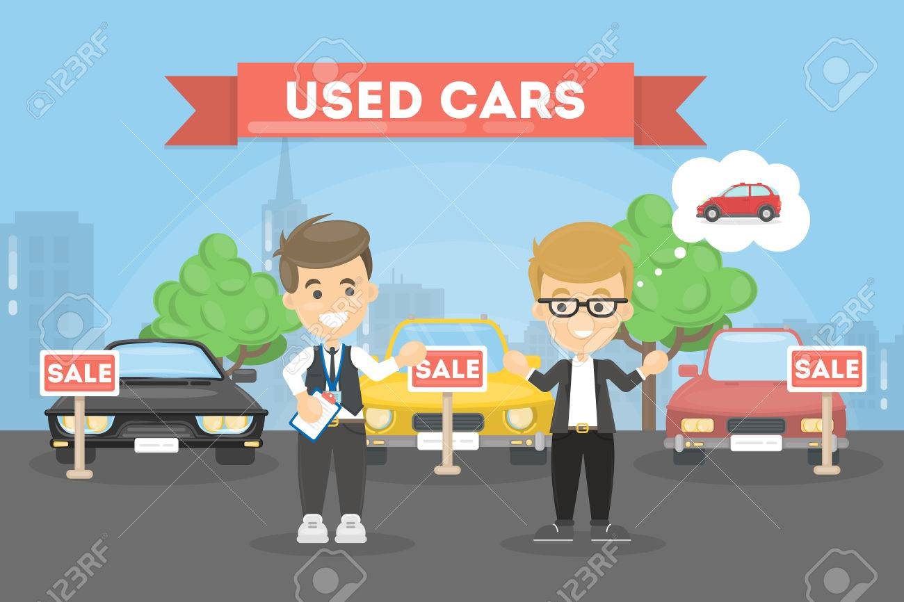 Used cars store. - 78615533