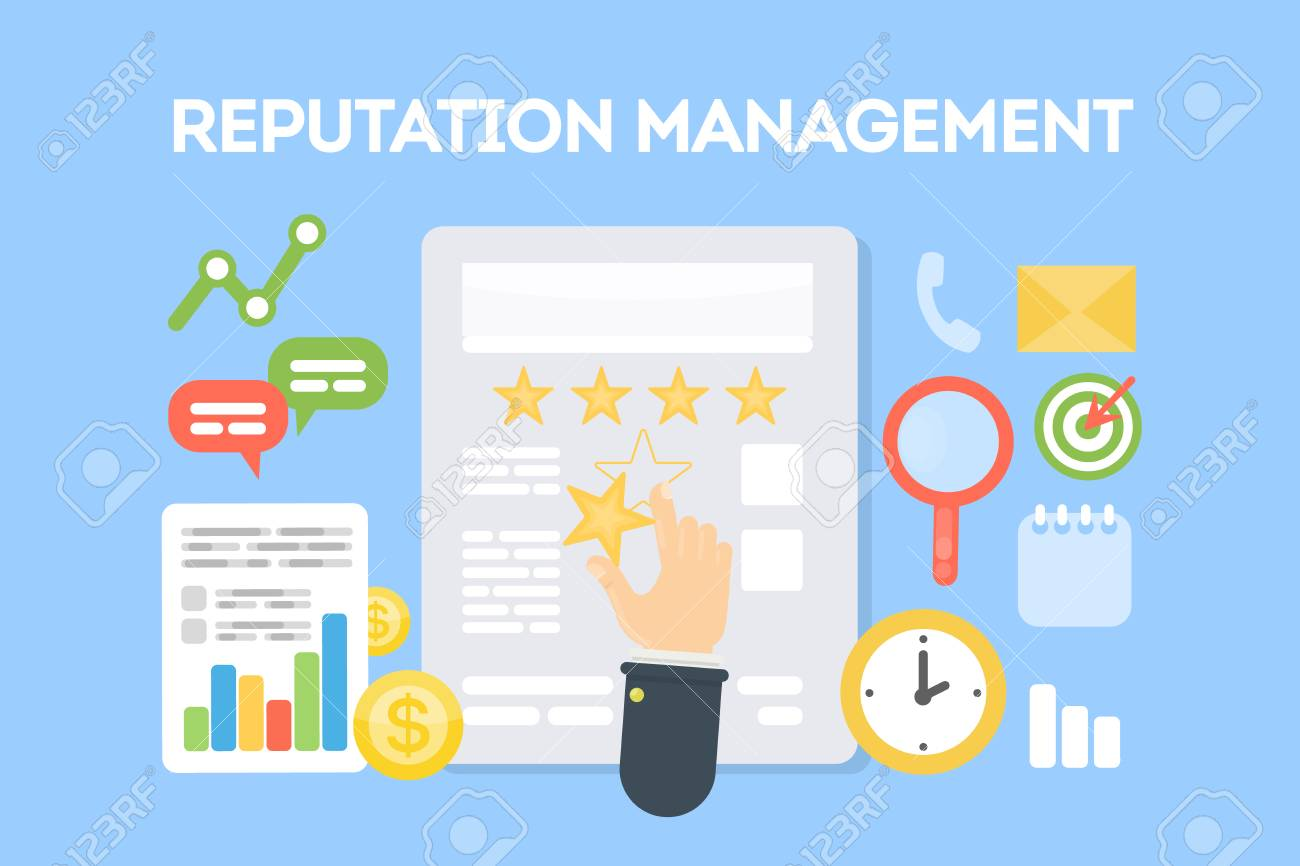 Reputation Management Concept. Royalty Free Cliparts, Vectors, And Stock Illustration. Image 86627195.