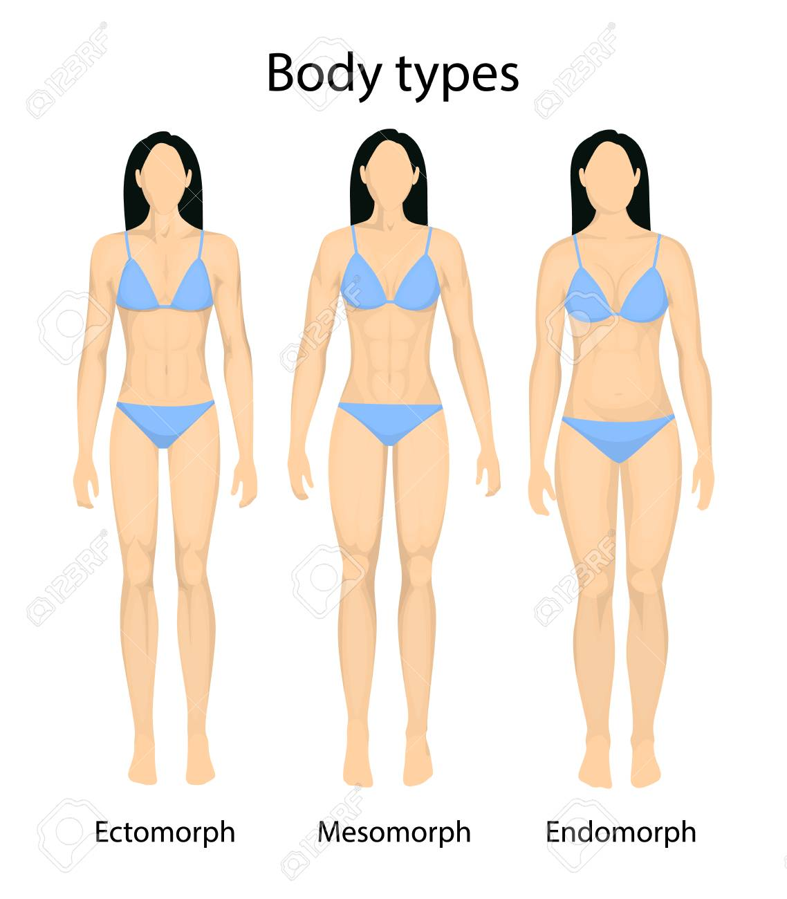 Types pictures body female