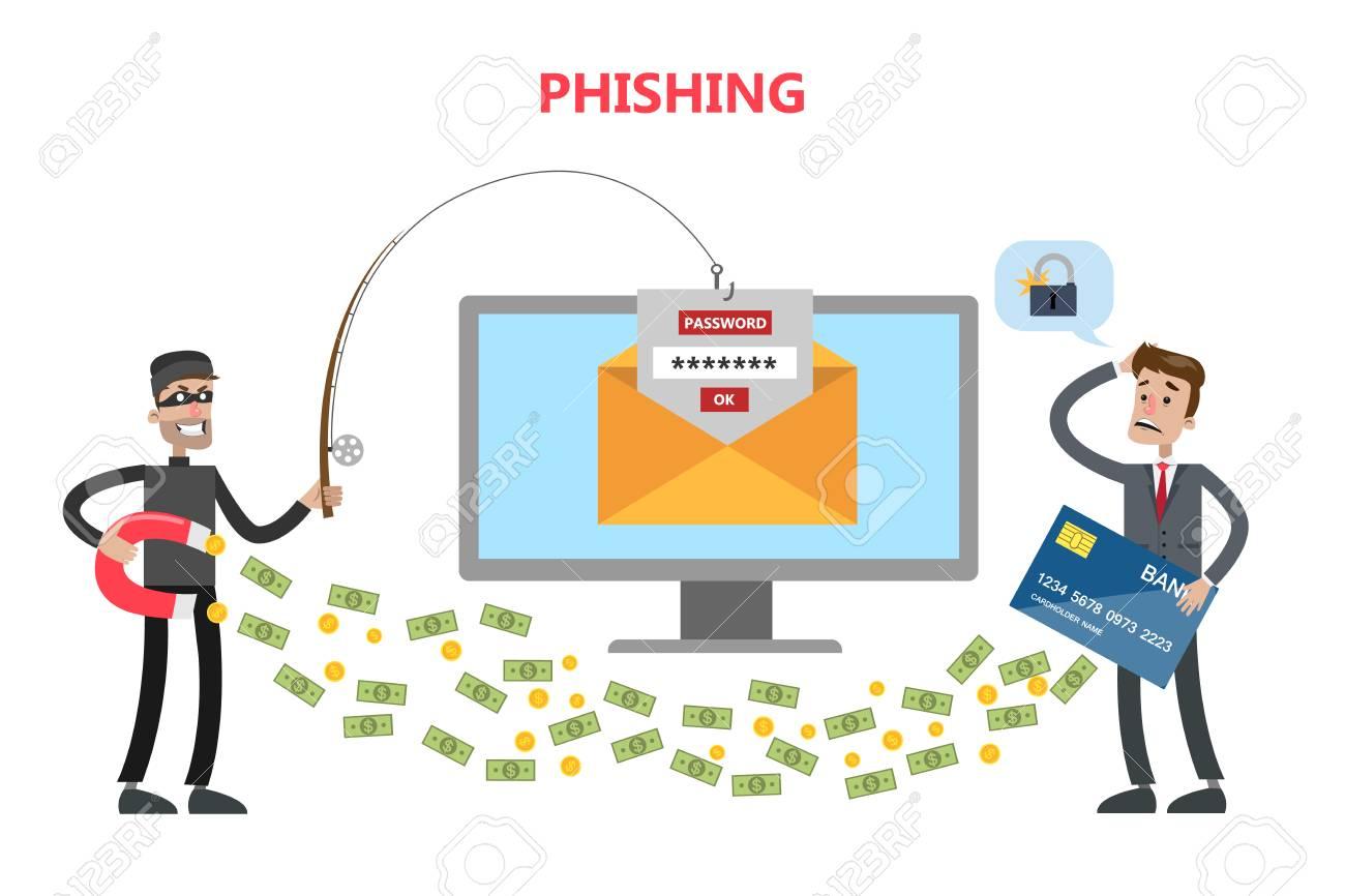 Phishing concept illustration. - 90589699