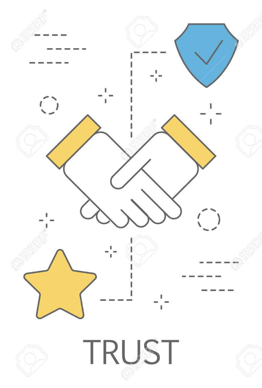 Trust Concept Handshake As A Symbol Of Loyalty And Honesty