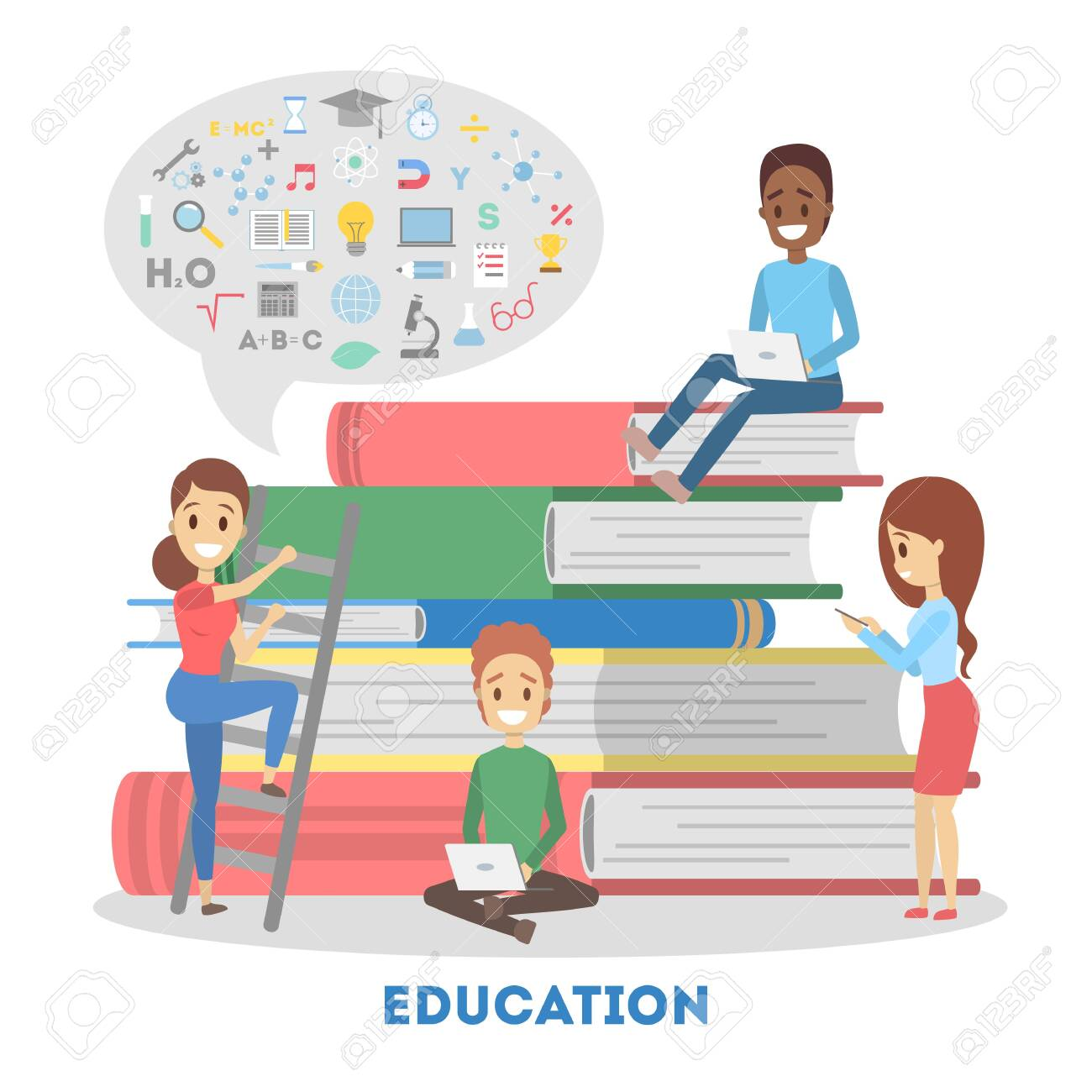 Education Web Banner E Learning And Remote Training Royalty Free Cliparts Vectors And Stock Illustration Image 118426080
