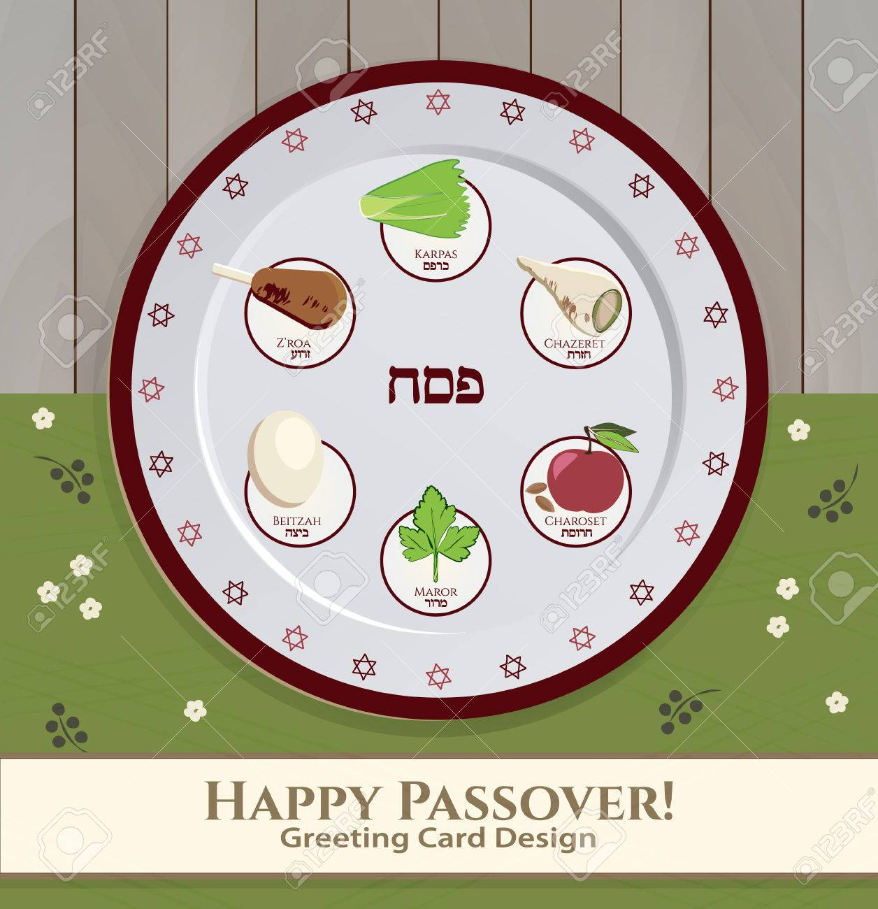 Greeting card design for passover vector template jewish spring greeting card design for passover vector template jewish spring holiday greeting card poster buycottarizona