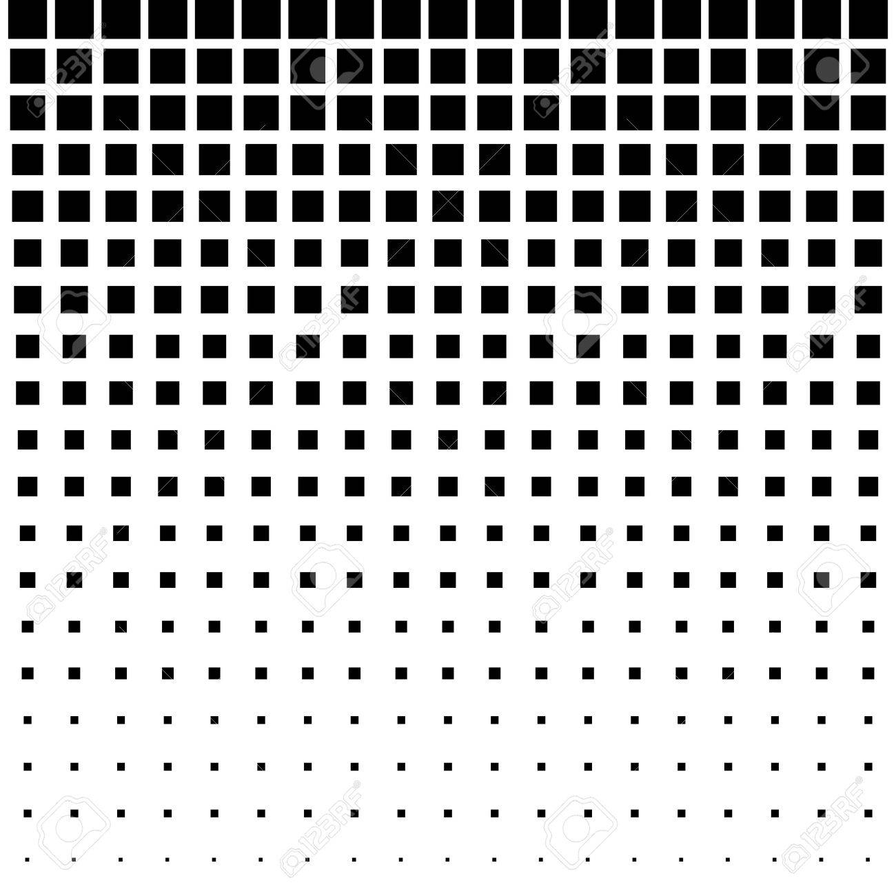 Black Abstract Halftone Square Dot Background Royalty Free Cliparts