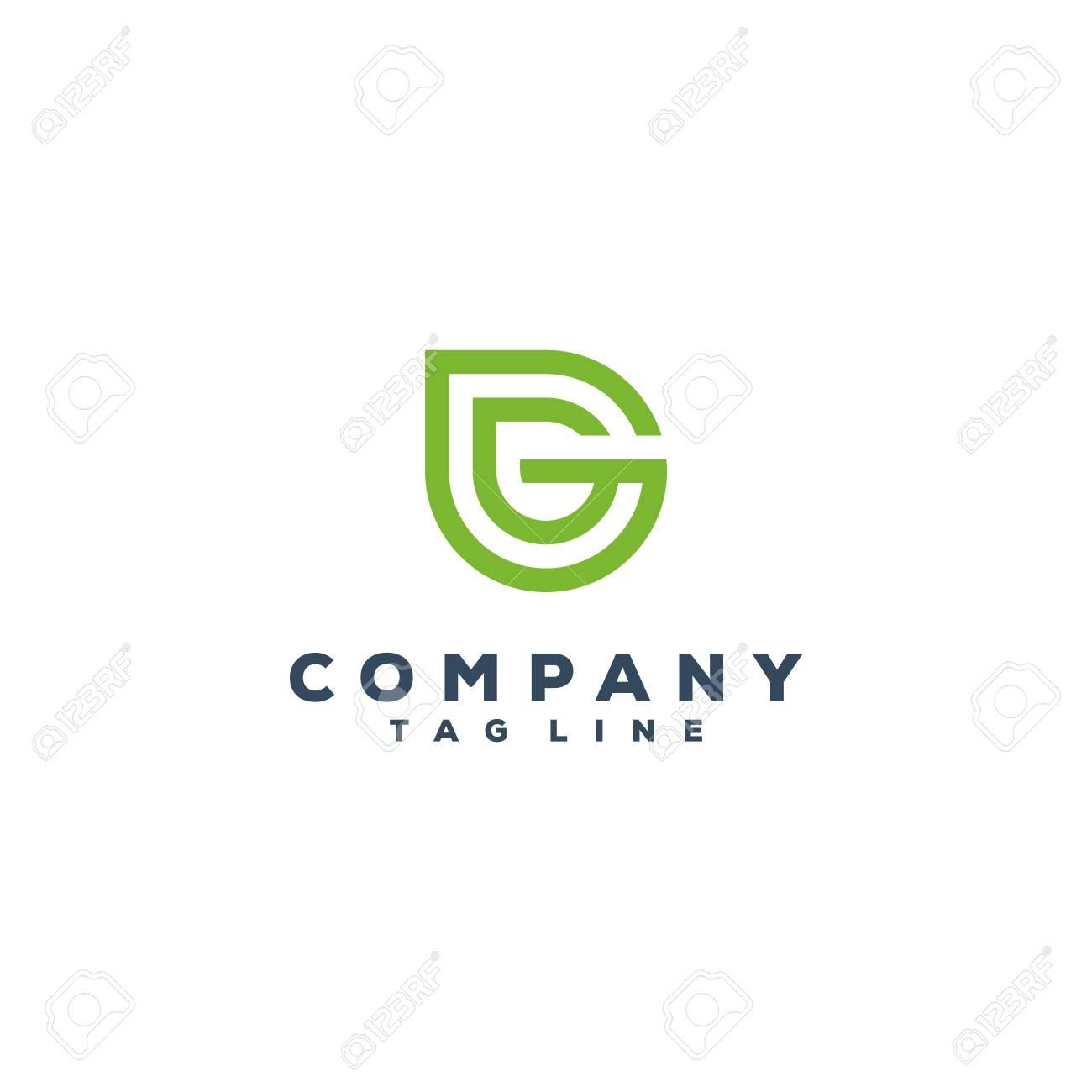 G & leaf logo design - 118778724