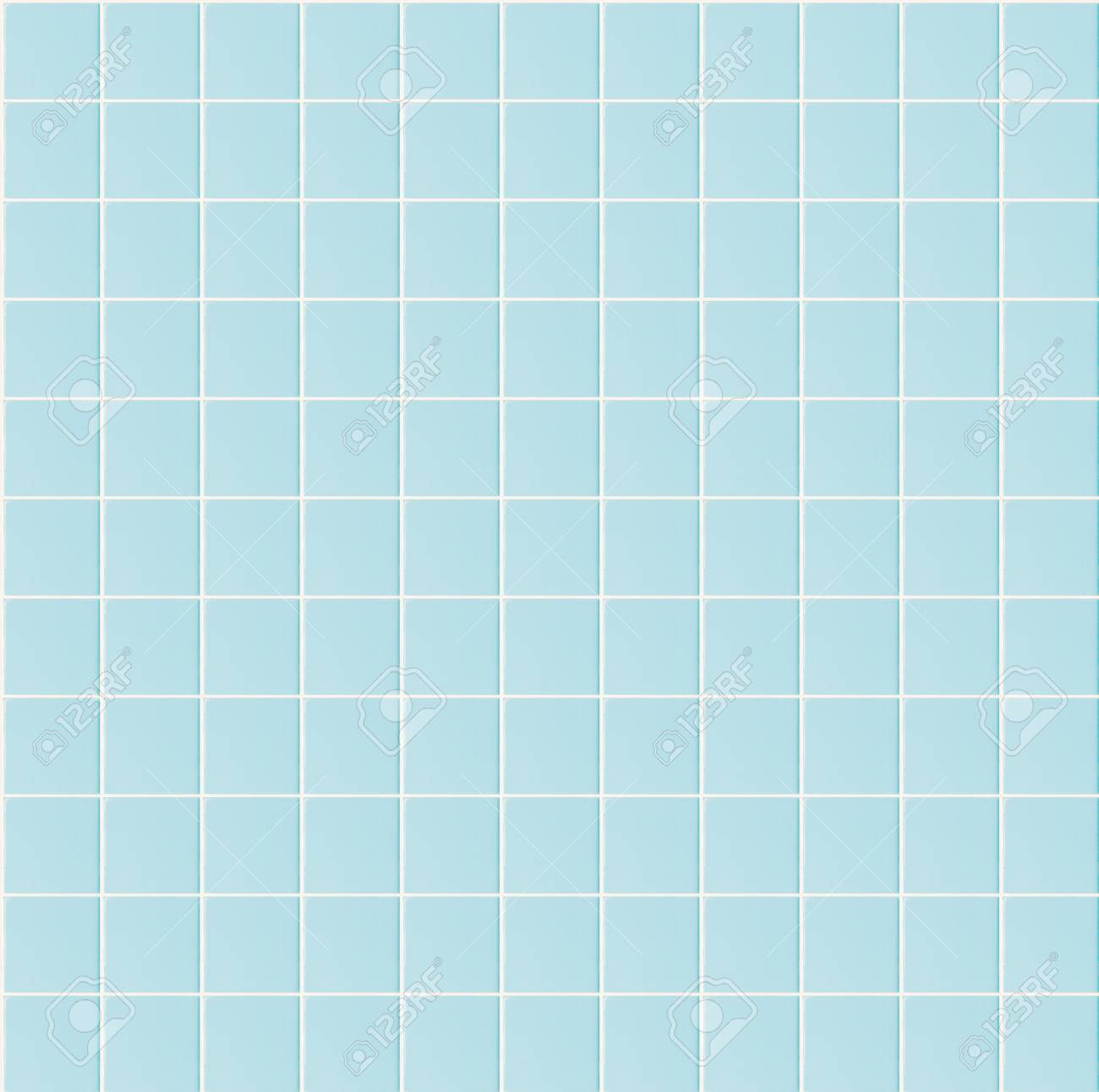 Light Blue Seamless Pattern Tile Wall Texture Background For.. Stock ...