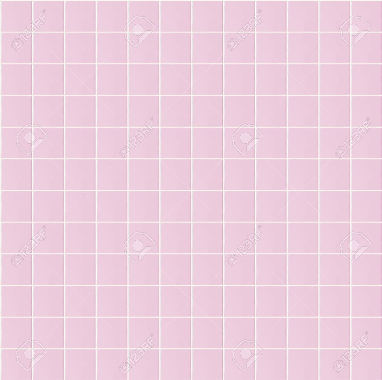 Light Pink Seamless Pattern Tile Wall Texture Background For Interior Home Bathroom Design Or 3d