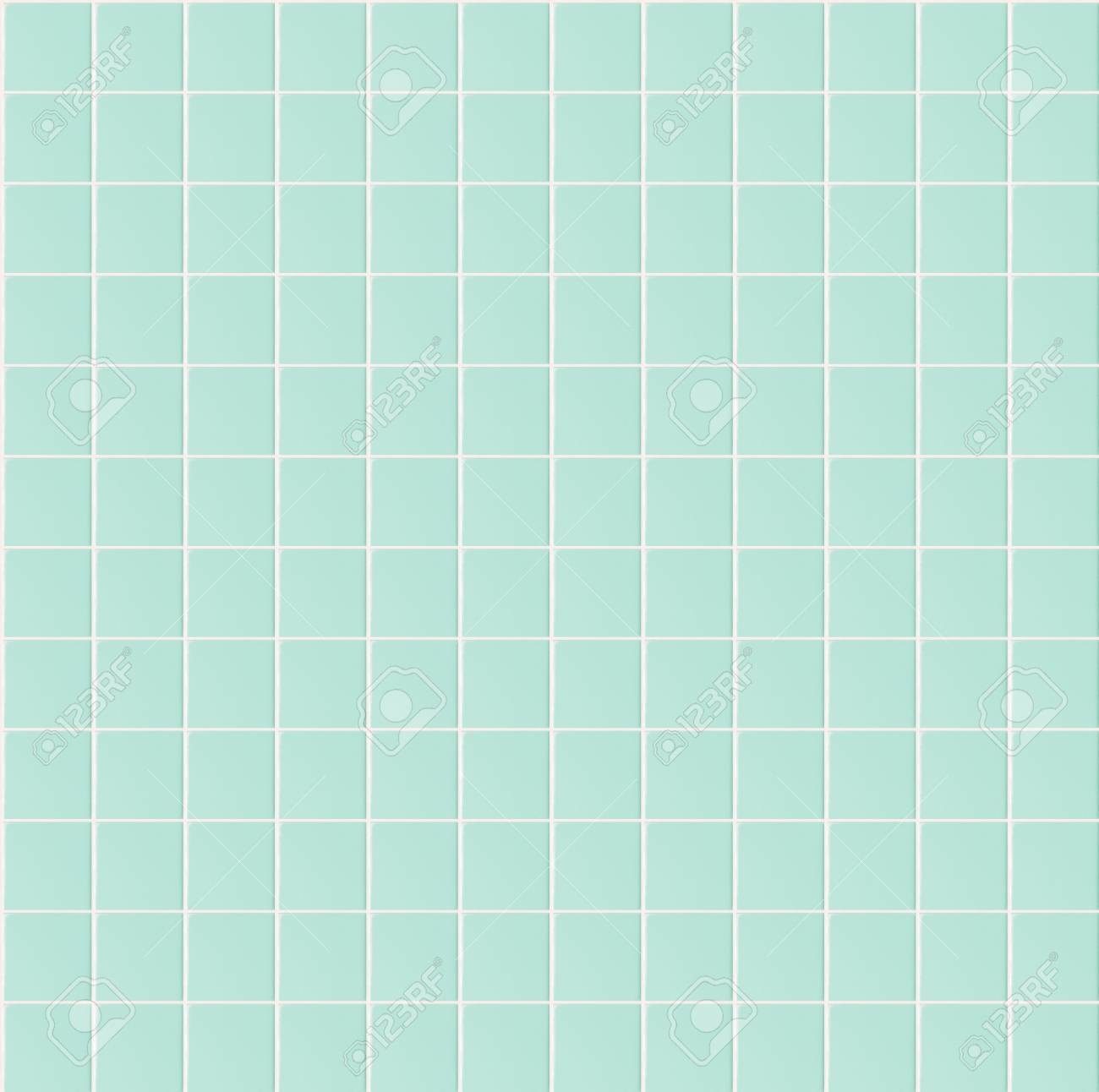 Light Green Seamless Pattern Tile Wall Texture Background For ...