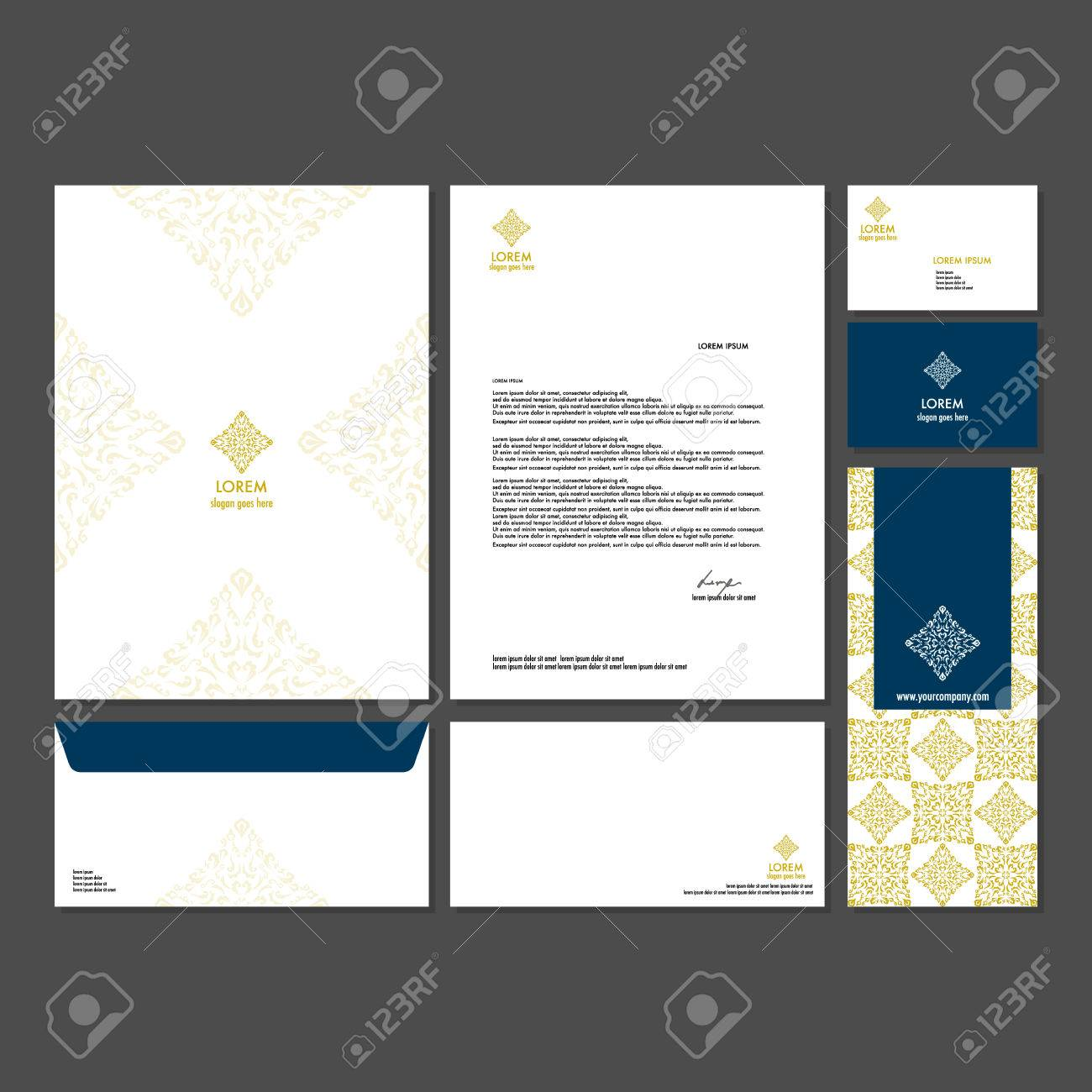 Branding Identity Template Corporate Company Design. Set - Business ...