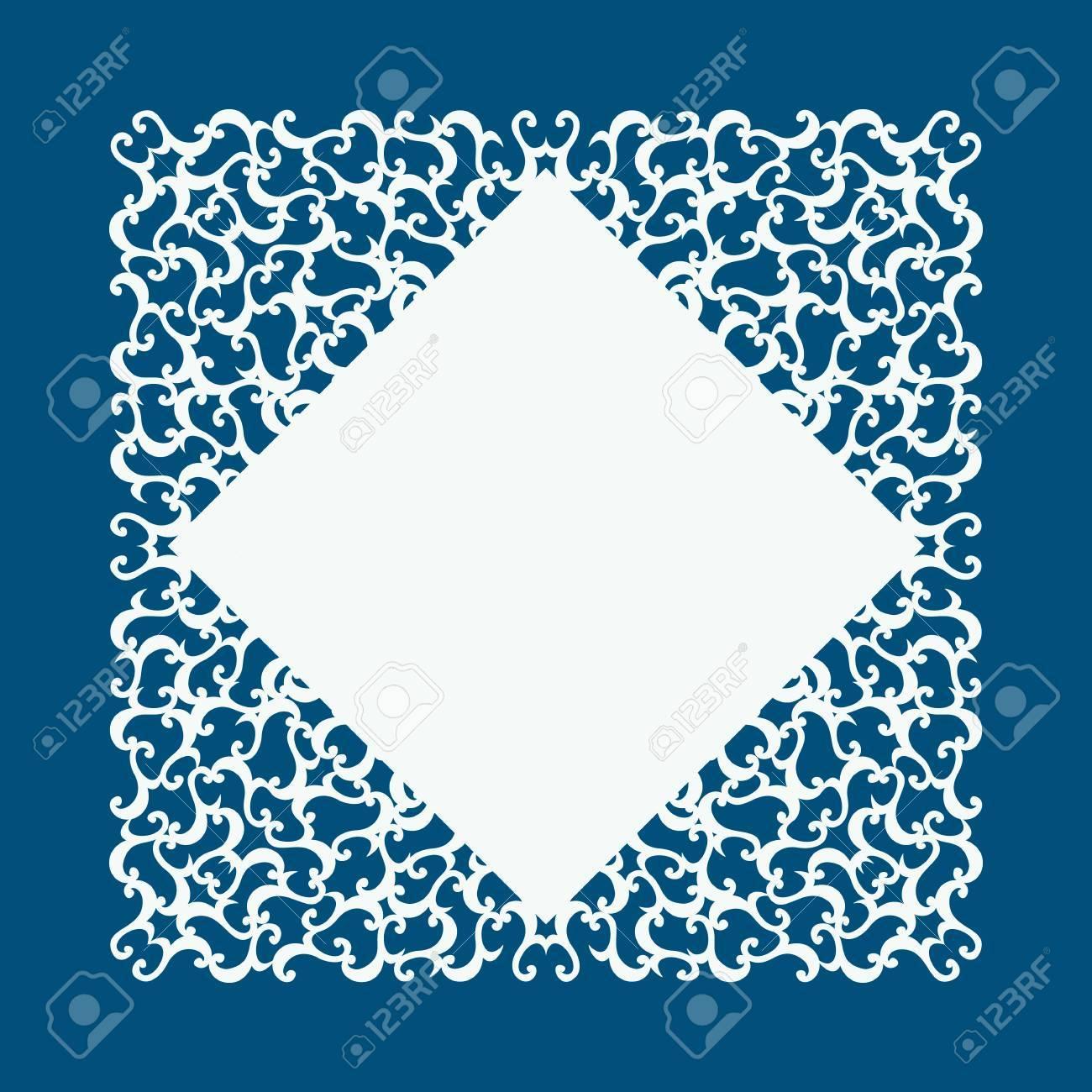 Laser cut card with swirls laser cutting template for diy greeting laser cut card with swirls laser cutting template for diy greeting cards envelopes kristyandbryce Images
