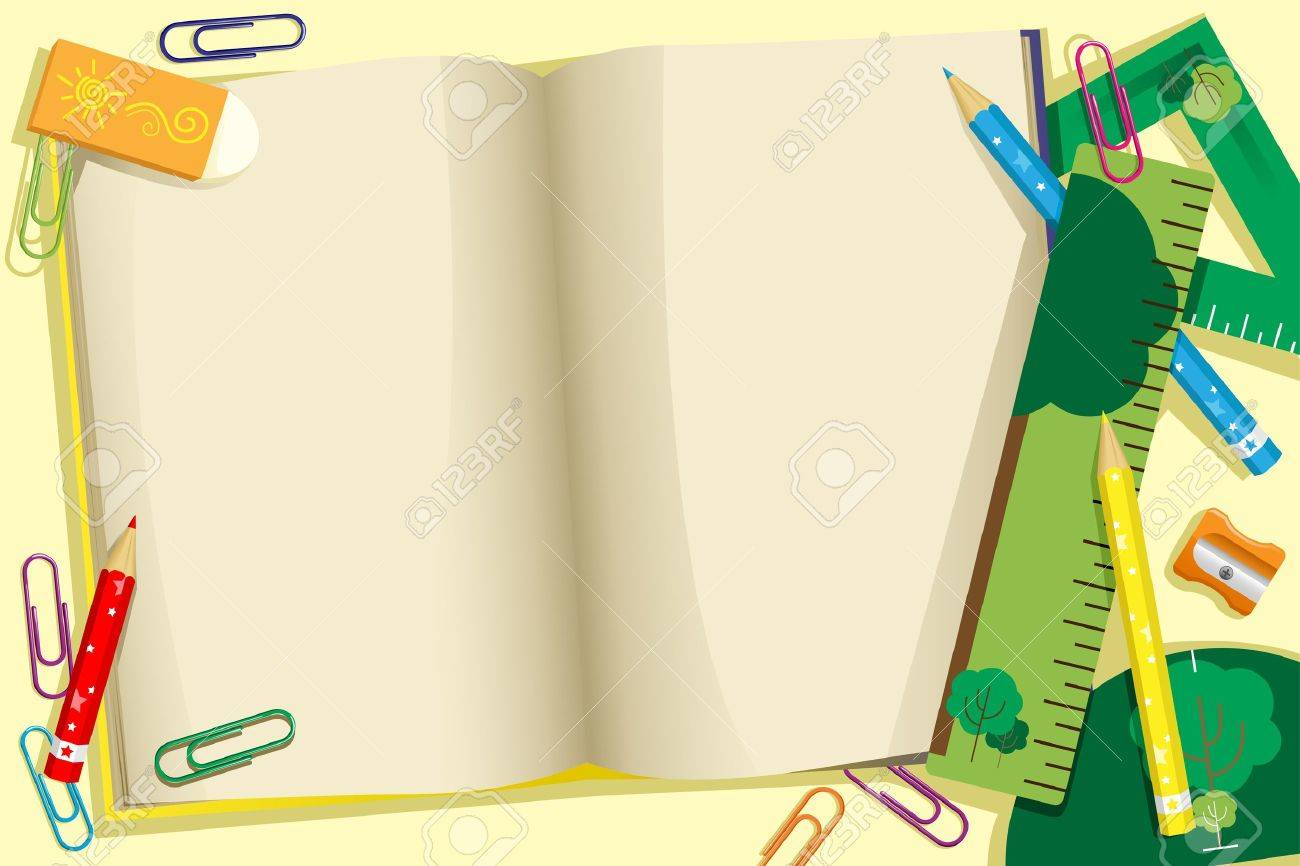A illustration of back to school background Stock Vector - 14413782
