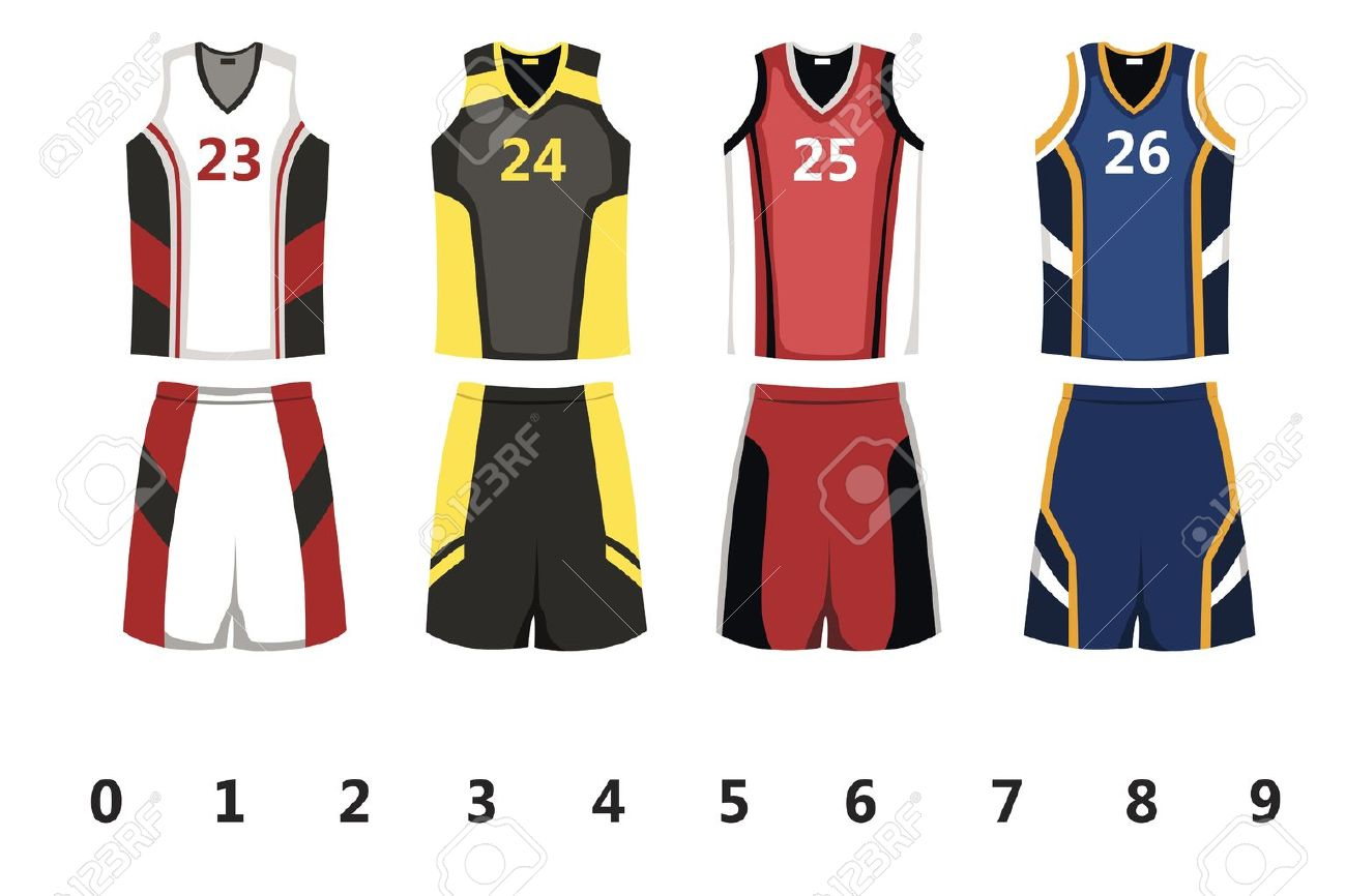 A vector illustration of basketball jersey design Stock Vector - 14517556 004514011