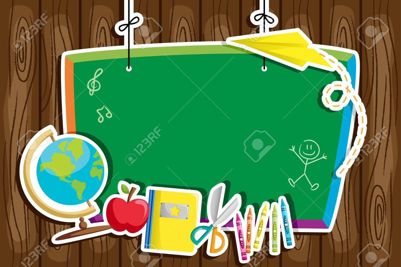 A illustration of back to school background Stock Vector - 14804763