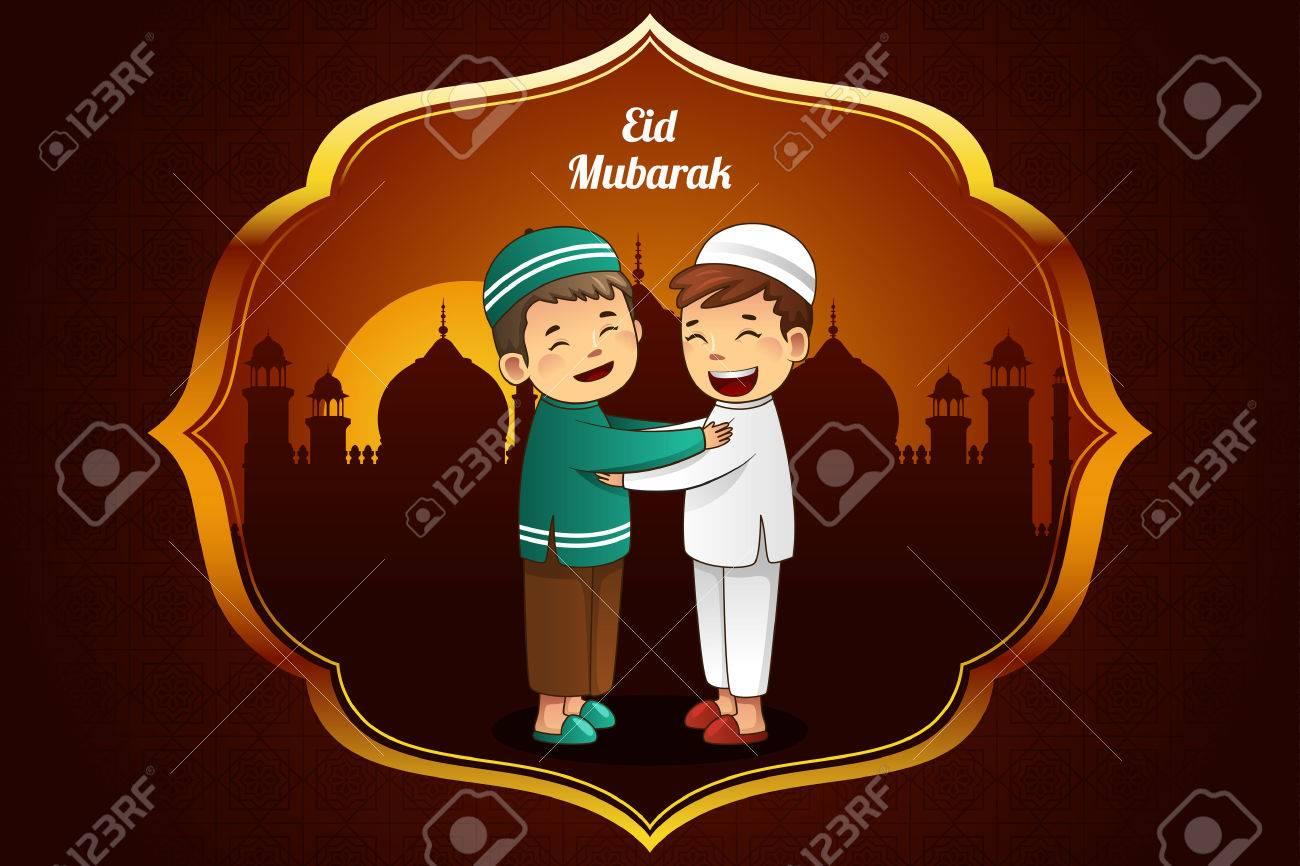 A illustration of eid al fitr greeting card design royalty free a illustration of eid al fitr greeting card design stock vector 29410986 kristyandbryce Choice Image
