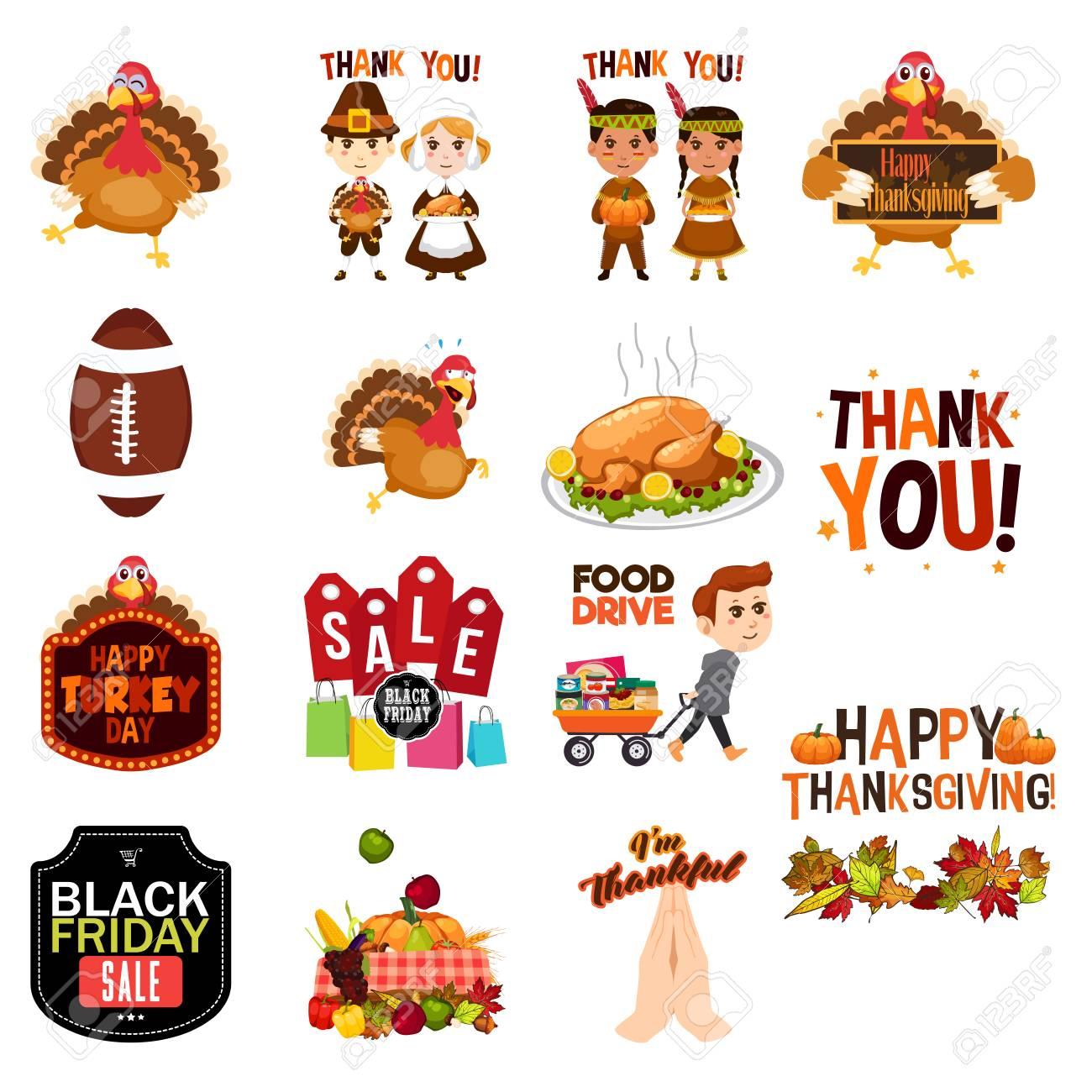 感謝祭クリップ アート イラストのイラスト素材ベクタ Image 88888652