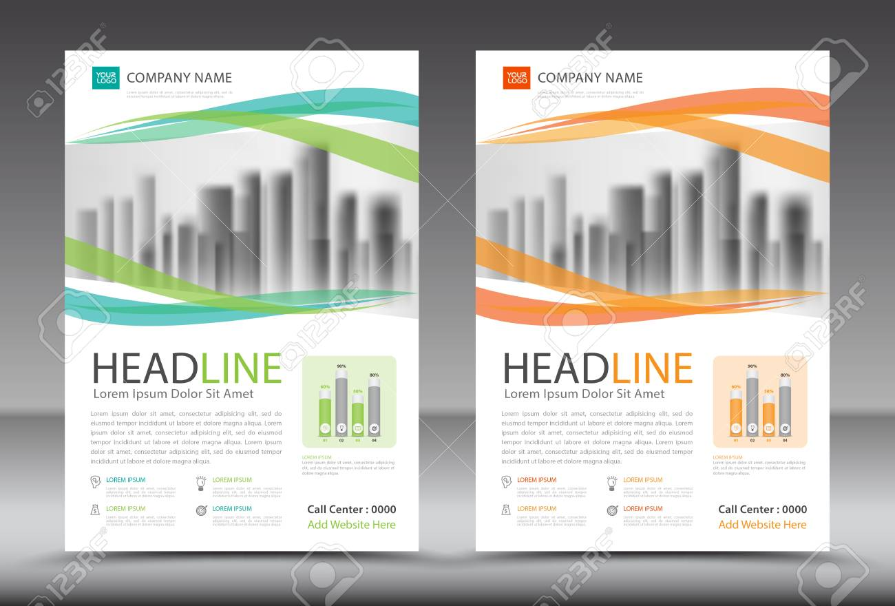 business brochure template annual report cover design