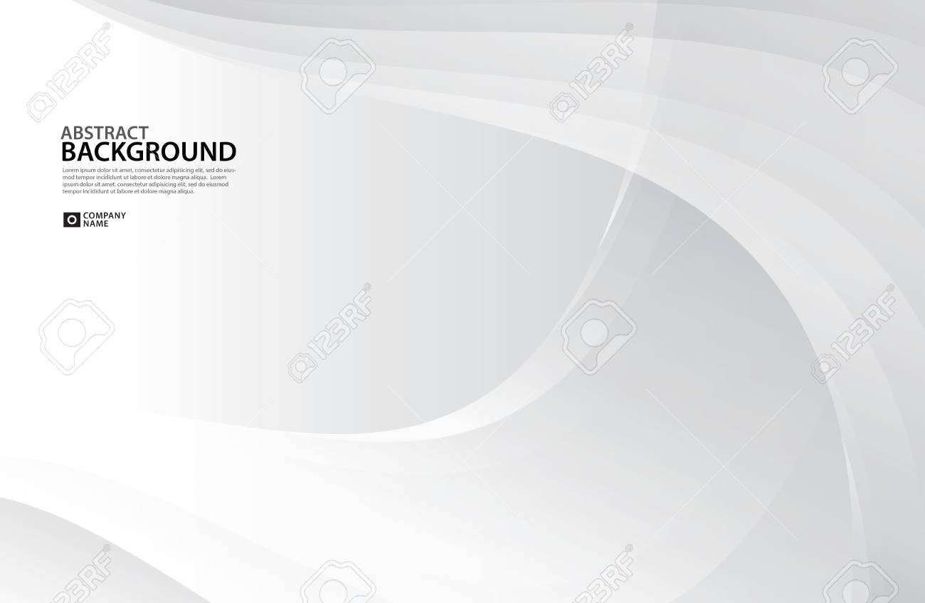 Gray Curve Abstract Background White Texture Wallpaper Surface Banner Cover Design