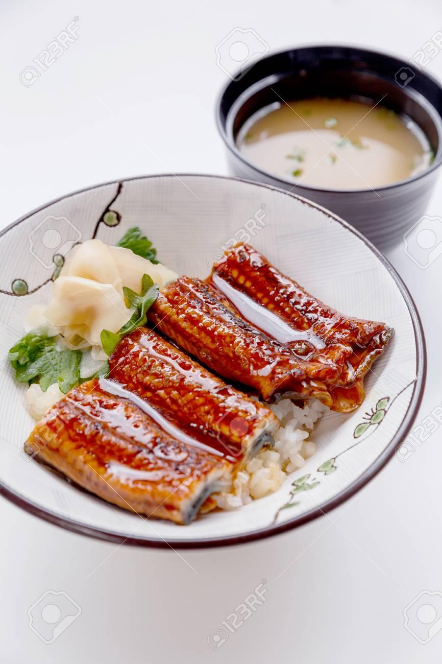 鰻丼 (日本丼日本淡水うなぎ照り...