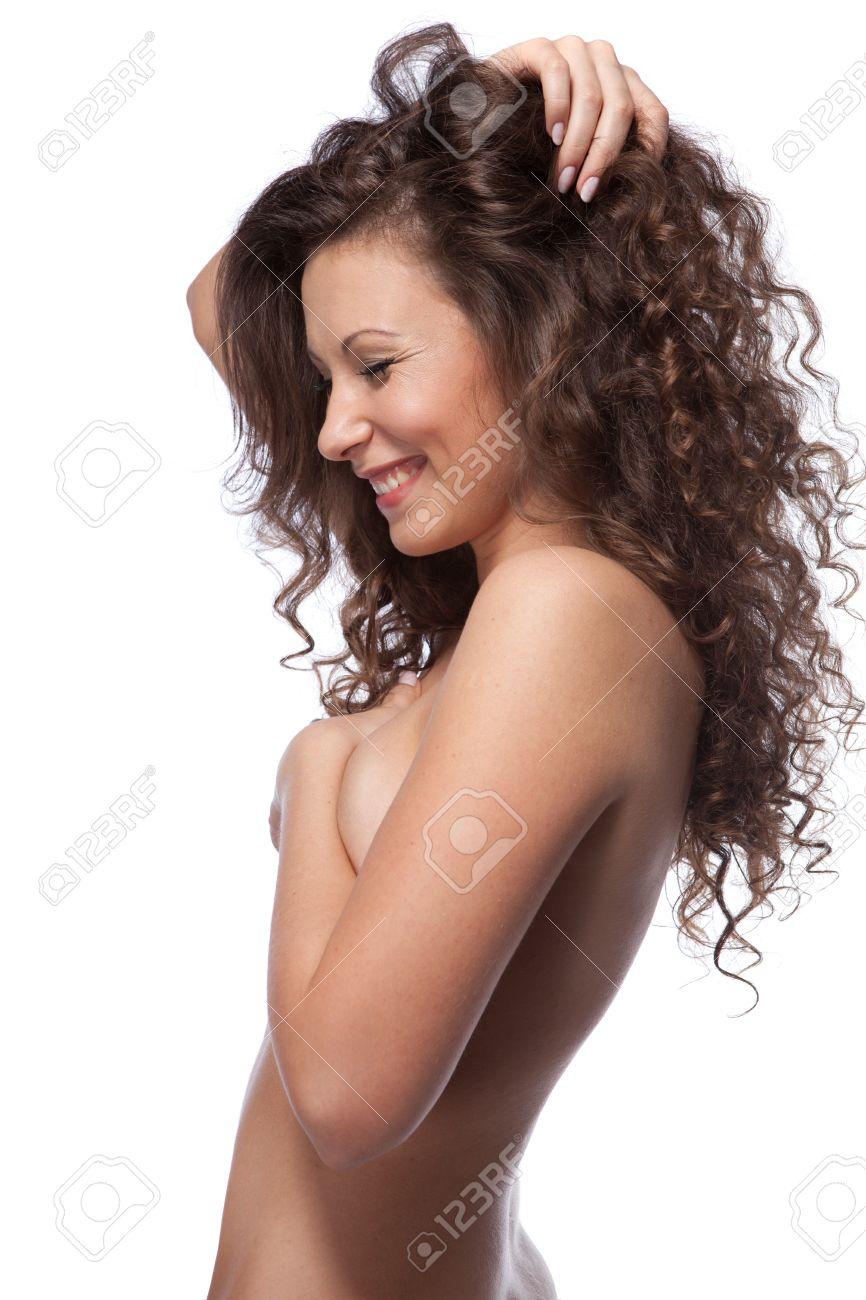 lockige haare nackt