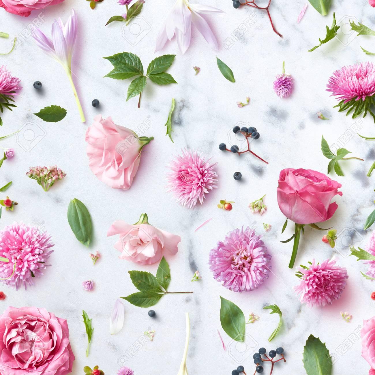 Fond D Ecran Sans Couture De Fleurs Roses Banque D Images Et Photos