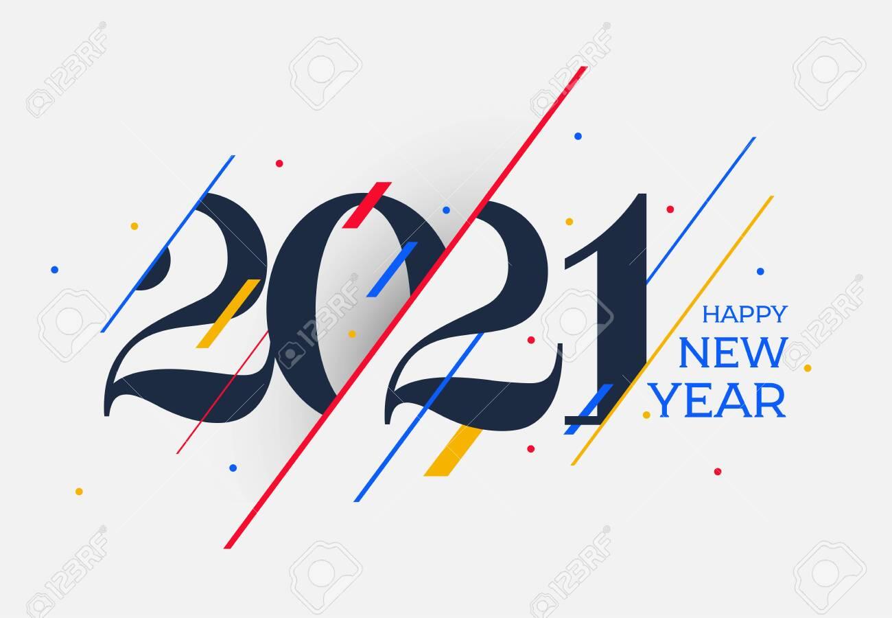 2021 happy new year design template design for calendar poster royalty free cliparts vectors and stock illustration image 138423181 2021 happy new year design template design for calendar poster