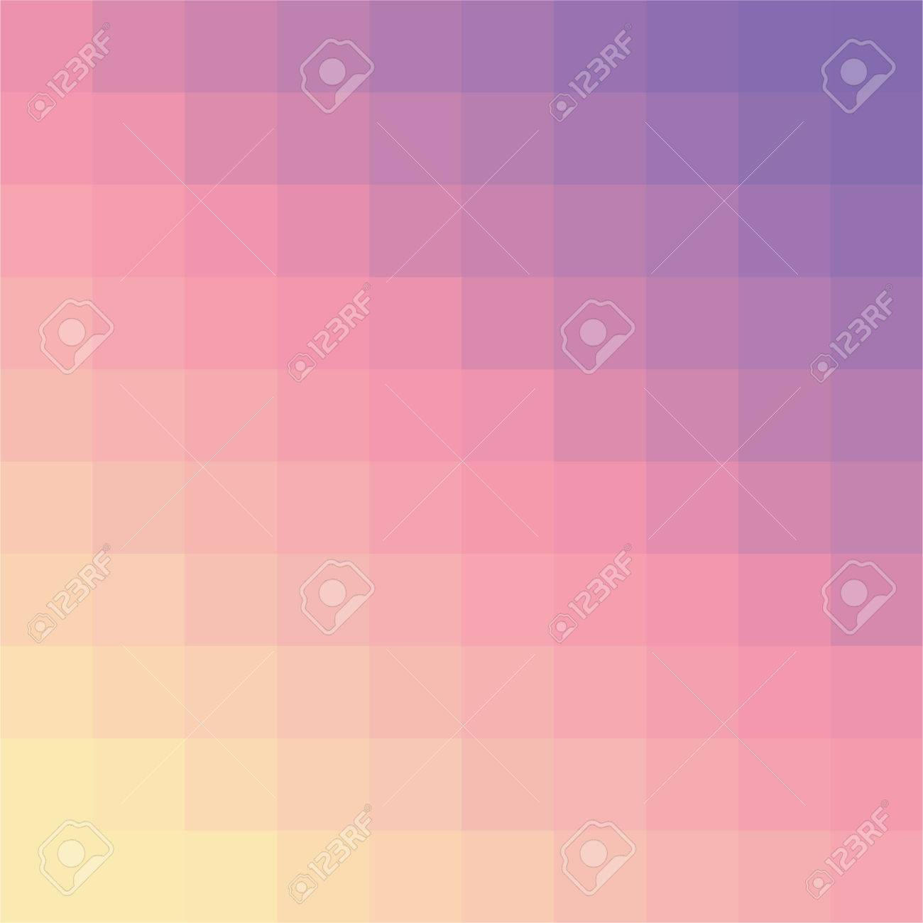 Simple colorful mosaic background for your designs Stock Vector - 7329507