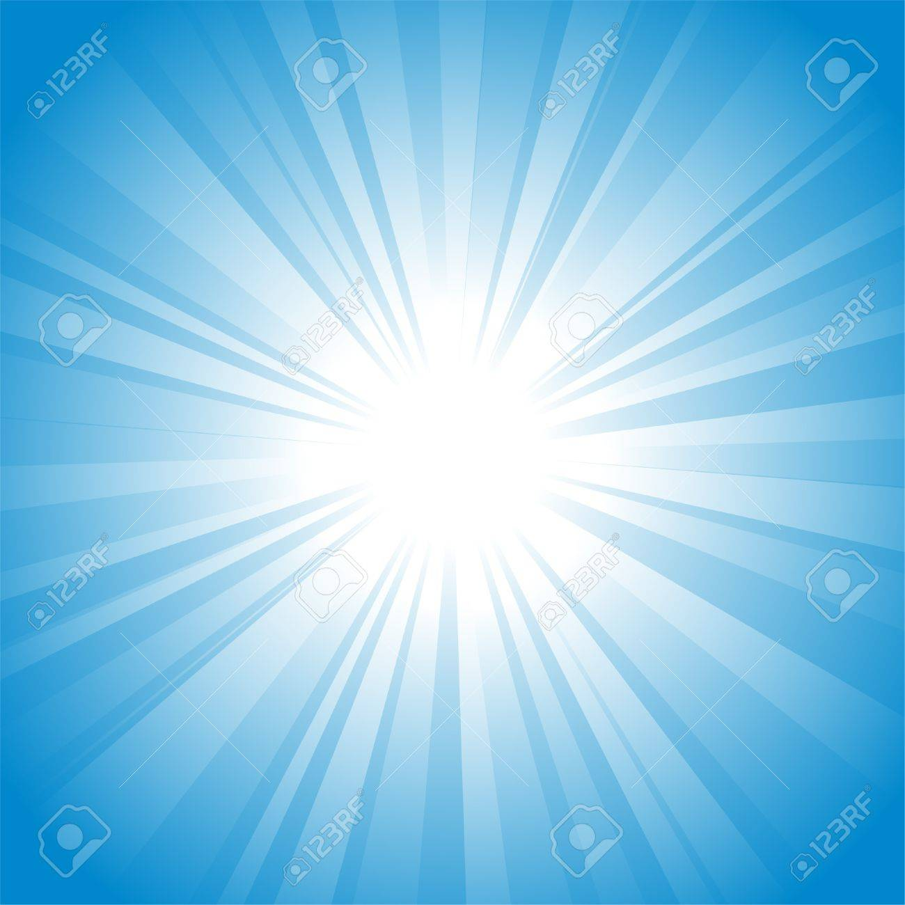 Sun vector background Stock Vector - 7854368