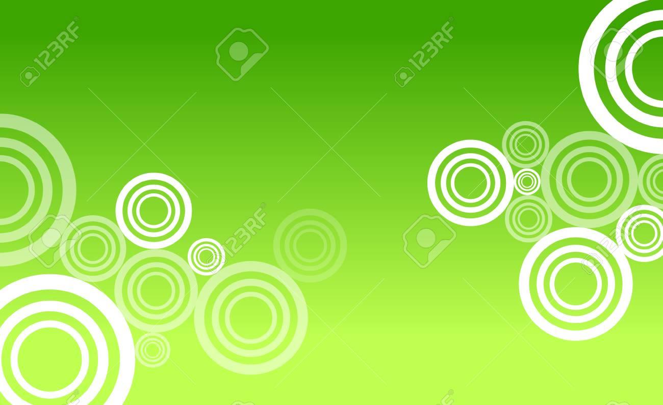 Green circle abstract Stock Vector - 7909799