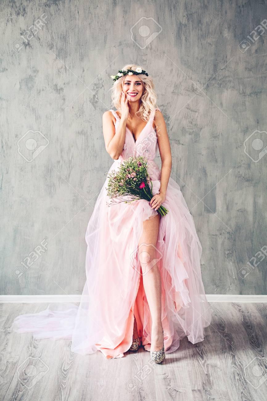 Robe de soiree avec fleurs
