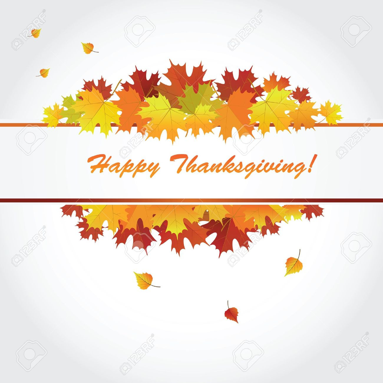 Banner For The Thanksgiving Holiday Vector Royalty Free Cliparts ...