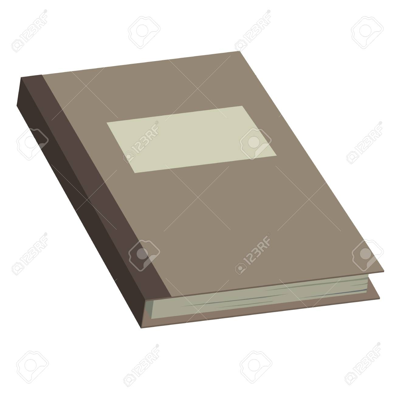Picture books on a white background Stock Vector - 21910788