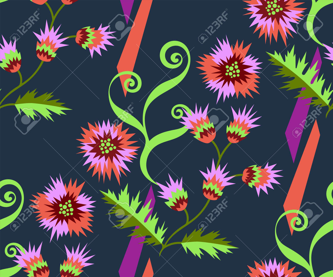 background abstract artwork. Hand drawn ink illustration. Modern ornamental decorative background. - 155464203