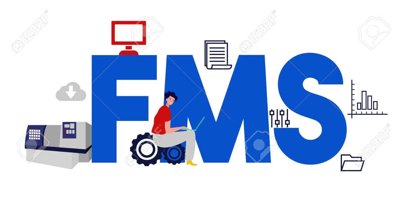 FMS Fleet management system  Factory operation software  Vector