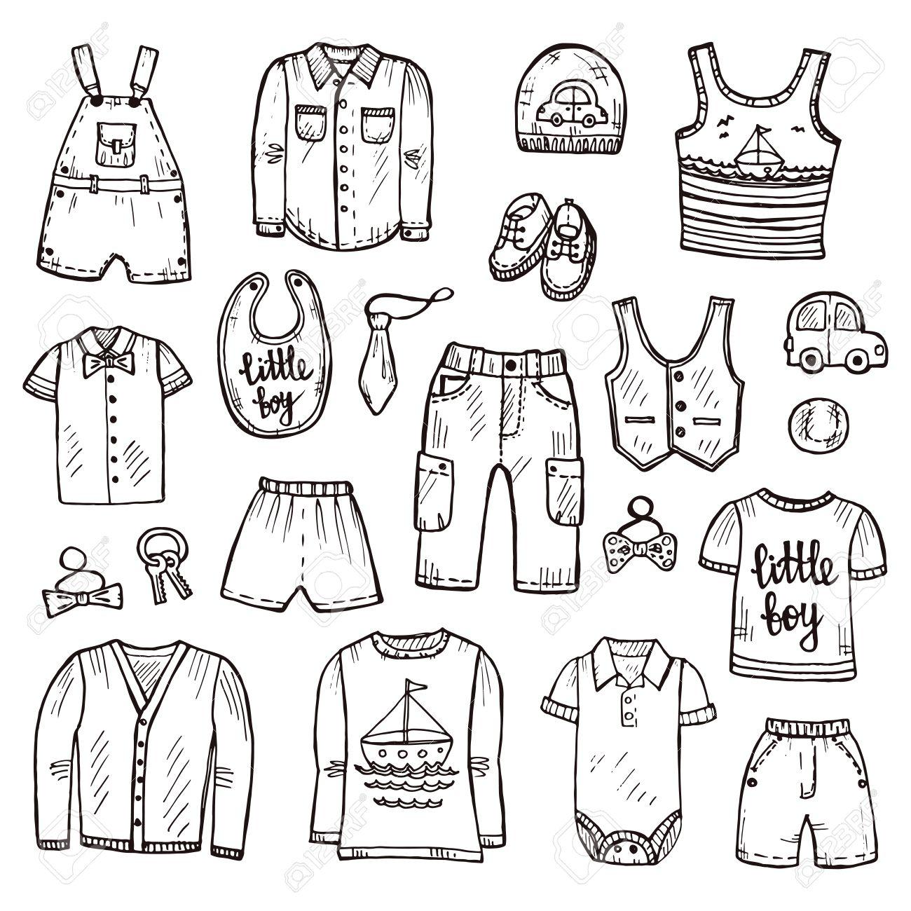 vestiti disegnati