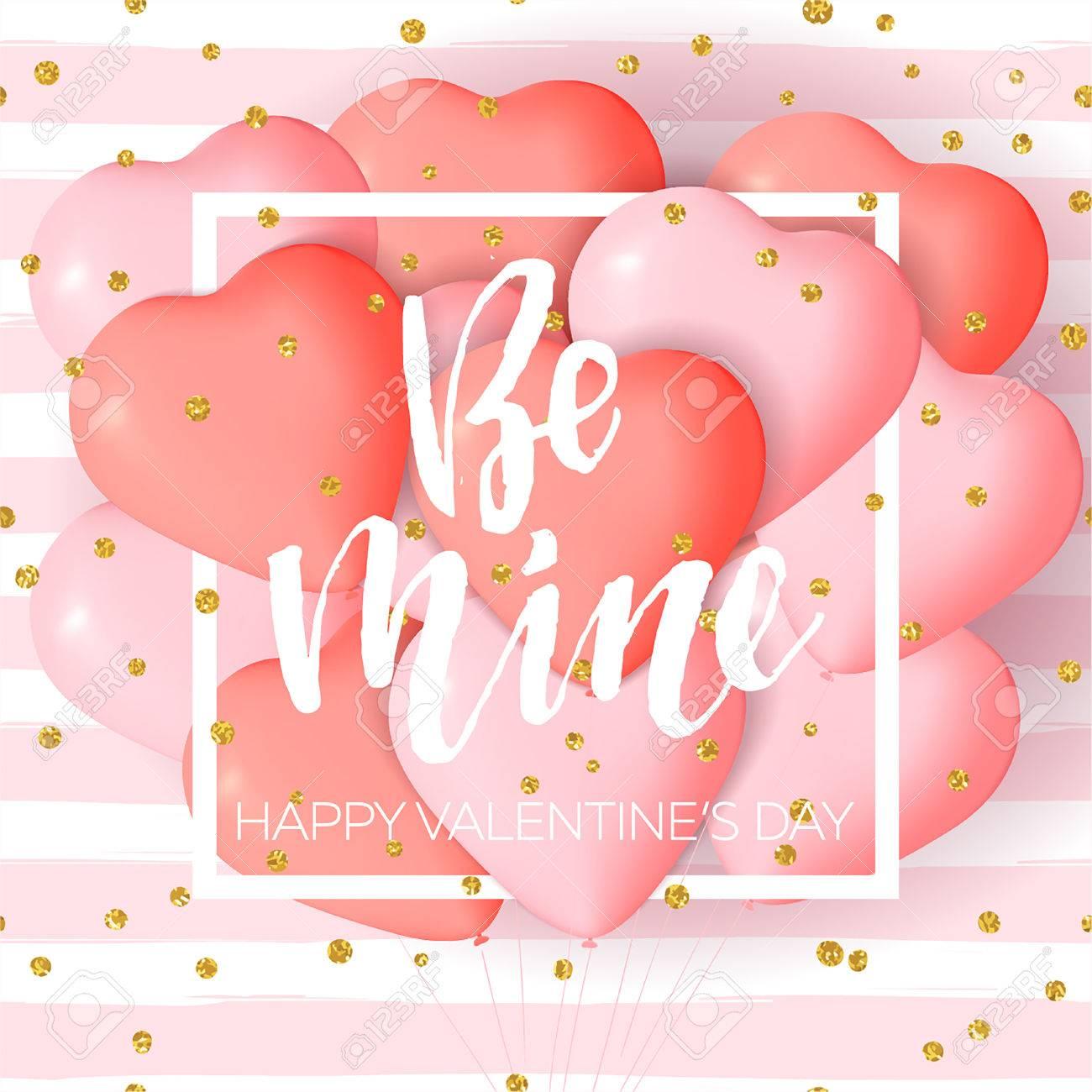 Lettering Valentine S Day Illustration Tissue Paper Tassel Garland