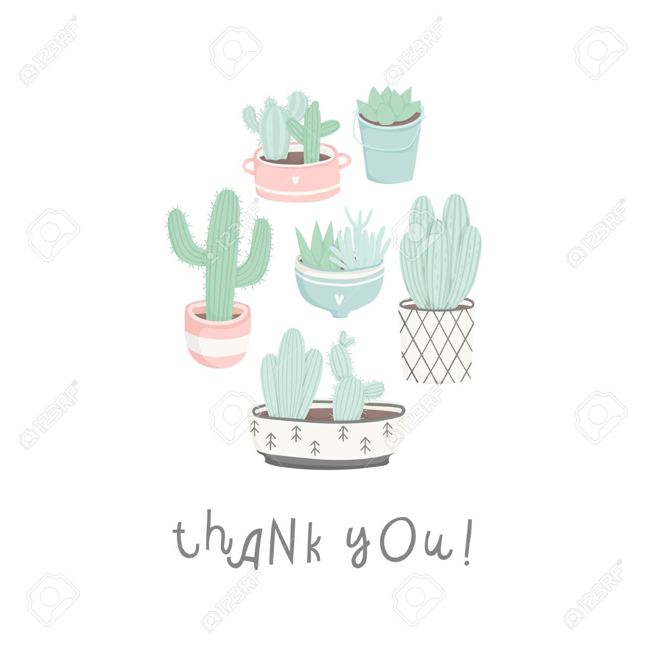 graphic about Cactus Printable known as Lovable cartoon geared up-toward-employ the service of present postcards with succulents and..